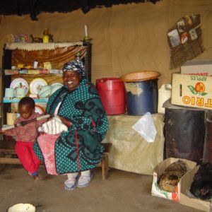Sani Pass: visiting a Basotho village