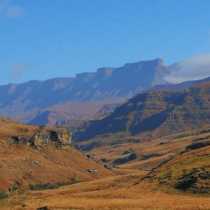 Early morning on the Sani Pass